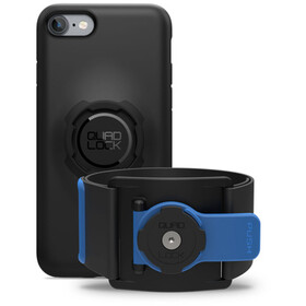 Quad Lock Run Kit - iPhone 7/8 bleu/noir